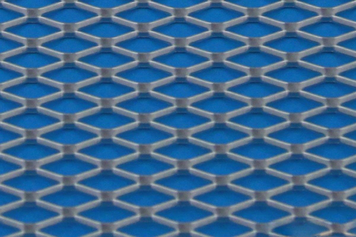 SIATKA ALU DIAMOND SILVER 120 * 40cm - GRUBYGARAGE - Sklep Tuningowy